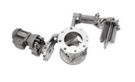 hygienic rotary valve