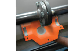pipe flange containment system