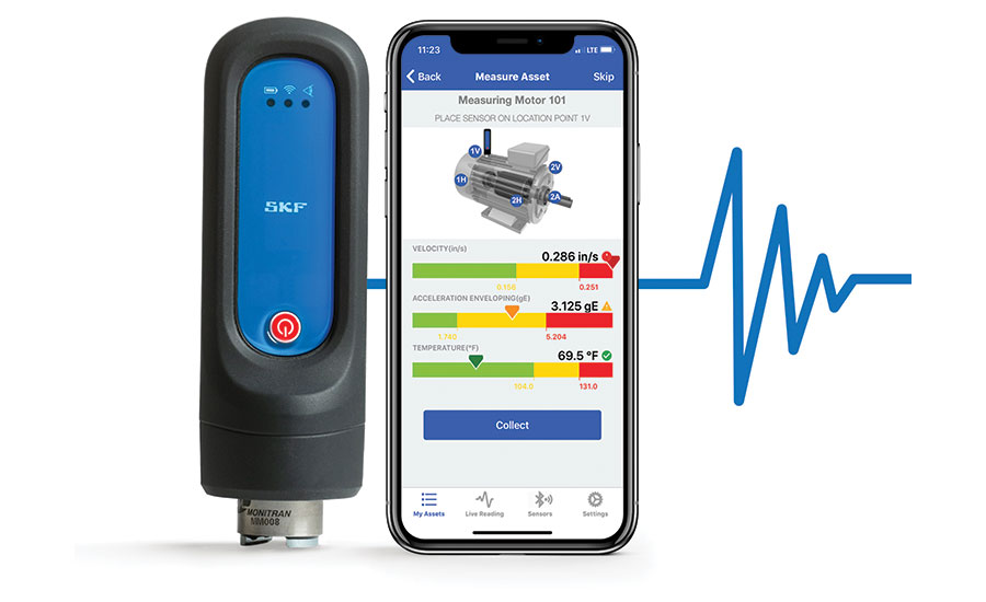 SKF condition monitoring technology