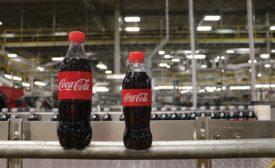Coke mini-bottle