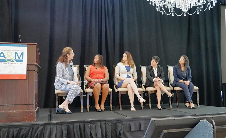 Women in Manufacturing panel