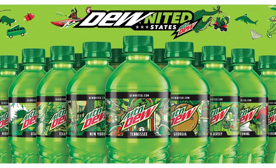 Unique Labels Packaging Design Adorn Dew And Fritos This Summer