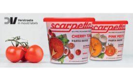 Scarpetta pasta sauce container