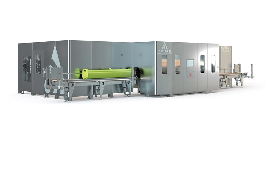 JBT Avure's HPP machine