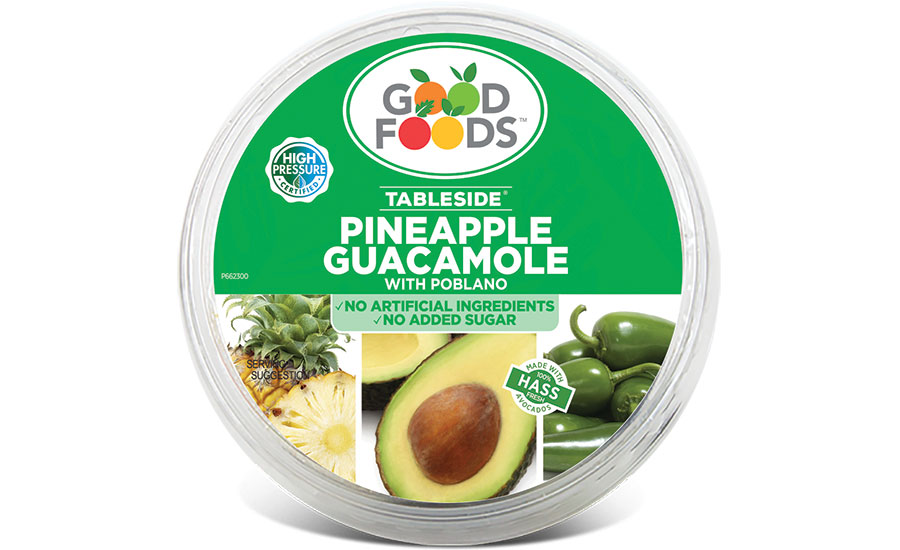 Good Foods pineapple guacamole