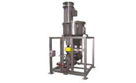 continuous dense phase conveying system