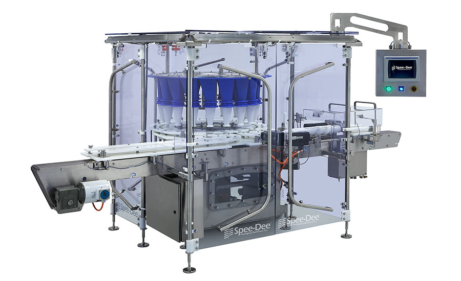 Rotary filling machine from Spee-Dee Packaging Machinery
