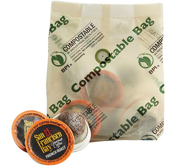 TC Transcontinental compostable coffee bag