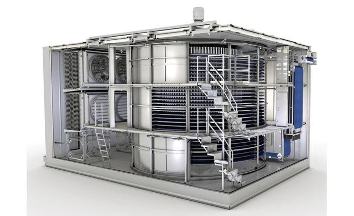 Spiral freezer upgrade | 2019-11-21 | Food Engineering