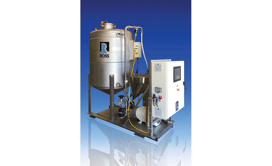 powder induction and mixing system