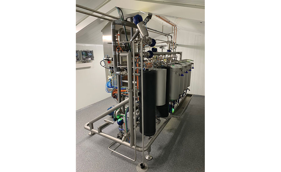 intelligent pasteurizer, filler