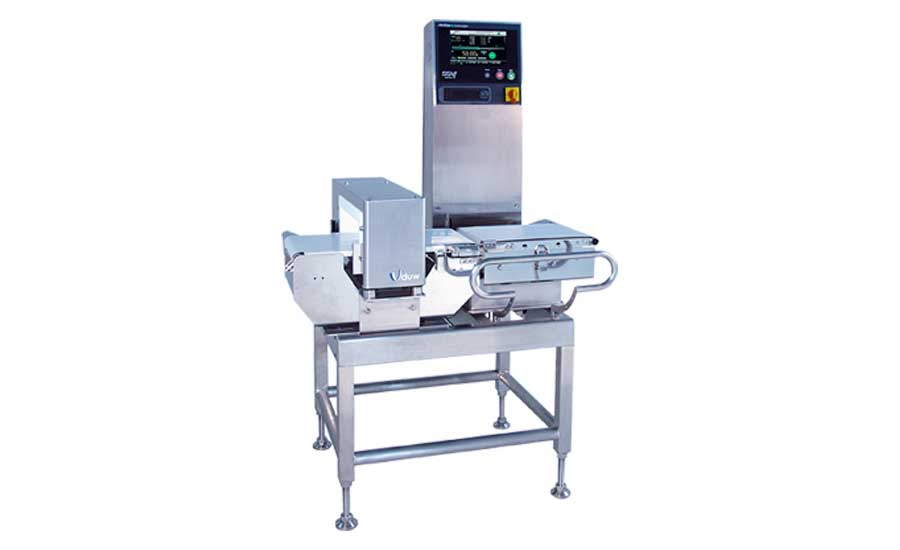 SSV-f Checkweigher and Metal Detector