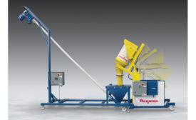 Mobile dumper-conveyor system