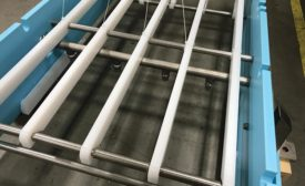 clean-in-place conveyor option