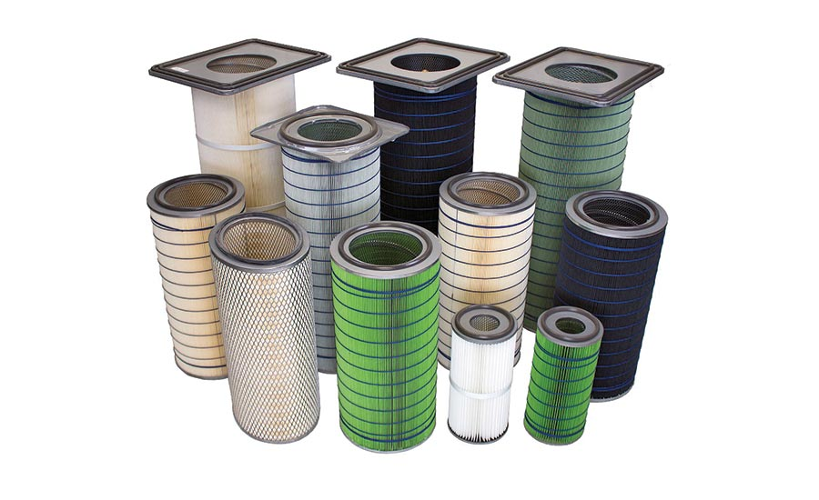 Dust collector replacement filters