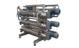 R Series scraped surface heat exchanger