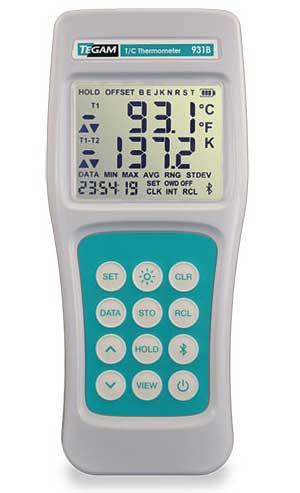 TEGAM's Model 931B data-logging thermometer