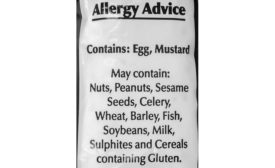 allergen labeling