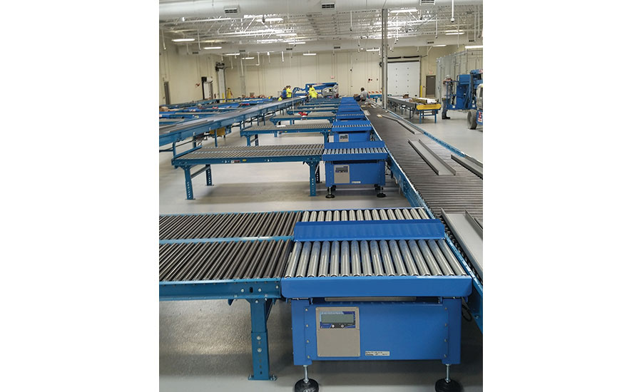 Roller conveyor scale