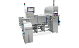Inline checkweigher/X-ray