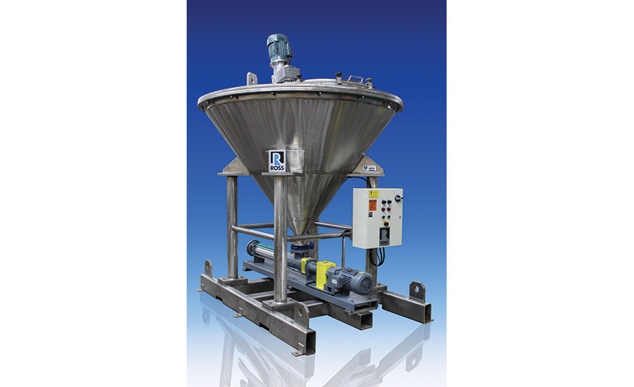 Ross VSL 400 mixing and pumping skid system