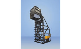 Sanitary Container Dumper