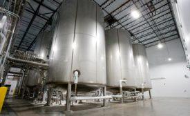 vertical fermentation tanks