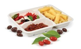 Food tray made from SupraPulp