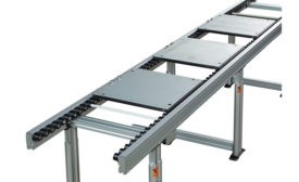 Pallet-handling conveyor