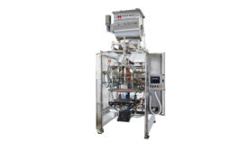 Bagger for liquid fill applications
