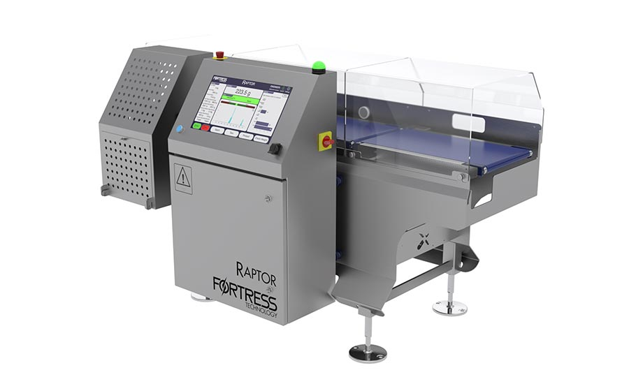 Fortress Technology's Raptor checkweighing series