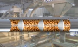 conveying almonds