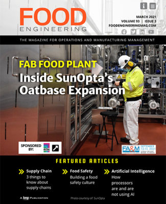 Food Engineering March 2021 cover
