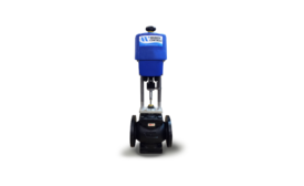 Electrically actuated valves