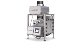 MT gravity flow metal detector