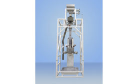 Food-grade bulk bag filling system
