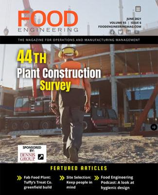 Food Engineering June 2021 cover
