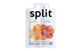Split snack packaging