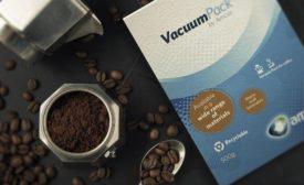 FE 0921 Food Packaging: Vacuum Coffee Pack Amcor Syntogen