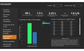 FE 0921 Plant Products: Kensen Worker Hydration Monitoring screenshot