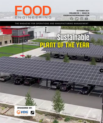 FOOD ENGINEERING October 2021 Cover