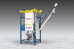 Mobile bag discharger-Flexicon
