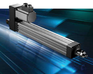 linear actuators exlar k90 dc motors