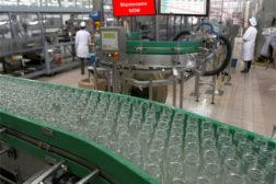 glass bottles factory floor improvement