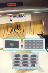 x-ray inspection systems ishida ix-ga heat and control