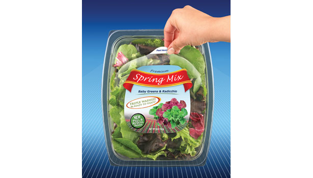 micro perfect peel reseal spring mix salad
