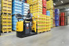 lift trucks warehouse man