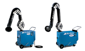 portable dust collectors airflow systems
