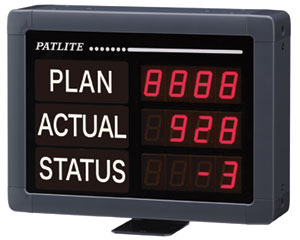 led display boards patlite ve series