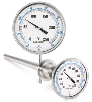 thermometers ashcroft inc